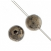 Pyrite 4mm Round 41pcs Approx